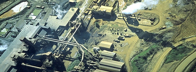 Glenbrook nickel facility at Riddle, Oregon in 1997. EPA issued draft hazardous air pollution regulation specific to Glenbrook in 1998.