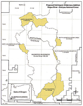 2004 Forest Service Proposed Kalmiopsis Wilderness Additiona