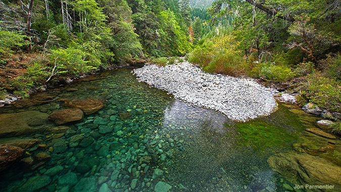 Red Flat Nickel Corporation wants to develop a nickel strip mine in the pristine watershed of Baldface Creek. Jon Parmentier photo.
