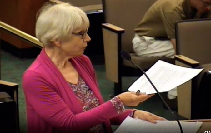 "Elizabeth Henry to Del Norte Board of Supervisors: ""It's a very special area. In 1993, the Forest Service even recommended that this area have special protections. In 2004 the Bush Administration proposed a plan to protect this area."
