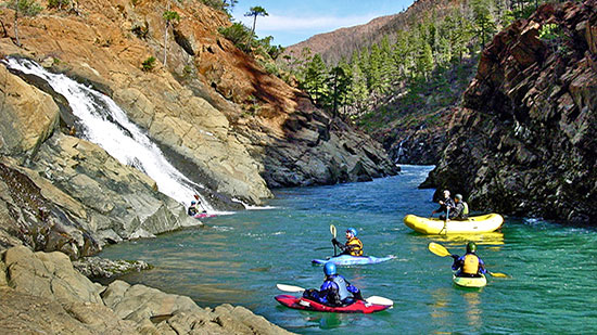 The Wild and Scenic North Fork Smith is one of the best one day floats in the Northwest  (Northwest Rafting Co. photo)