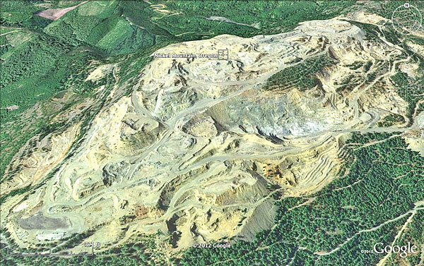 Google earth shows reclamation at nickel mountain mine new sciox Image collections