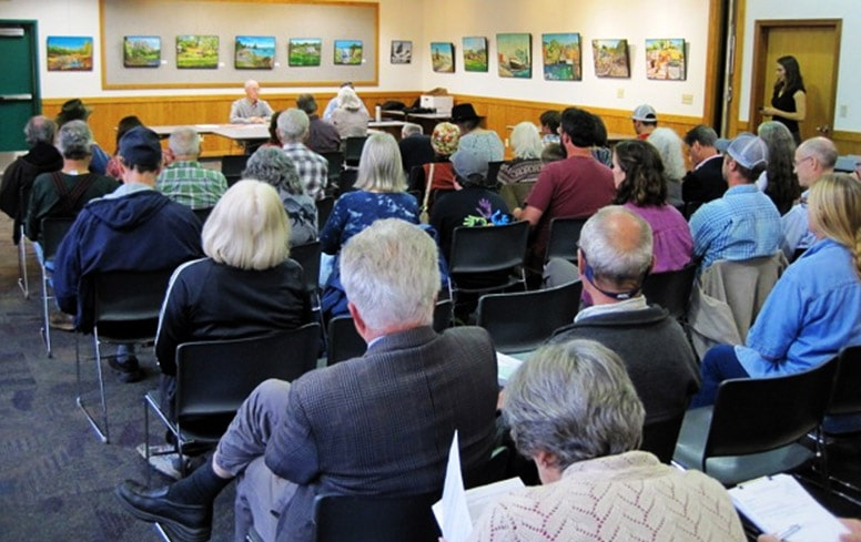 Public hearing in Brookings Oregon for North Fork Smith Outstanding Resource Waters